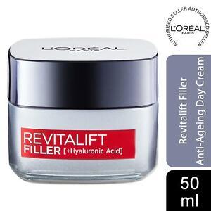 L'Oreal Paris Revitalift Filler + Hyaluronic Acid Replumping Day Cream 50ml