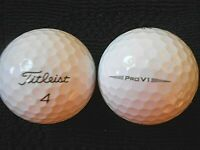 "20 TITLEIST ""PRO V1"" - ""THE VERY LATEST 2019/20 MODEL"" - Golf Balls - ""A"" Grade."