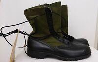 Tropical Jungle Combat Boots Vietnam 10N NOS 6 1967 Vibram Spike Resistant CIC