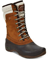 The North Face Women's Shellista II Mid Cold-Weather Boots, Khaki Size 6