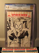 Marvel Ultimate Comics Spider-Man #1 CGC 9.8 Sketch Variant