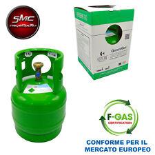 BOMBOLA GAS REFRIGERANTE R134A 5 KG 6,4 LITRI CLIMATIZZATORE AUTO CONDIZIONATORE
