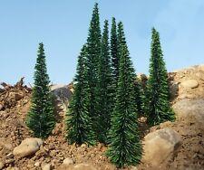 "TANNEN Fichten Bäume H0 16-20cm HÖHE 10 STÜCK ""MADE in GERMANY""         41"