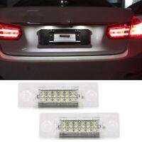 2x Feu de plaque d'immatriculation à LED pour VW Golf Jetta MK5 Passat Touran FR