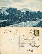 Cartolina di Ercolano (Resina), panorama - Napoli