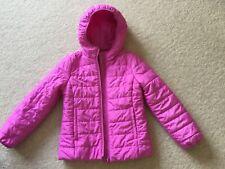 Girls Coat GAP Pink Size Large Age 10–11 Lightweight PRIMALOFT Jacket Coat Gap