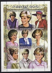 Senegal - Lady Princess Diana - Briefmarken Timbres stamps MNH** Z20