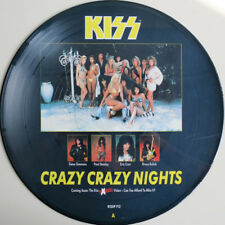 Kiss, Crazy Crazy Nights, NEW* Ltd edition PICTURE DISC 12 inch single