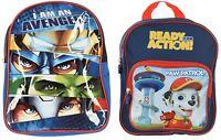 Avengers Paw Patrol Backpack For Boys Girls kids Children School Bag Travel Bag