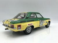 Opel Ascona A #26 Irmscher Tuning Rallye WM RAC W. Röhrl/ Berg 1974- 1:18 BOS