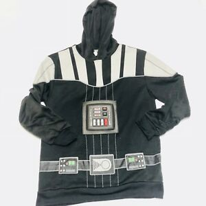 Star Wars Boys Darth Vader Hoodie Size Kids Large Graphic and Pop Out Design
