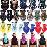 Summer Breathable Balaclava Neck Gaiter Tube Bandana Face Mask Cover Reusable