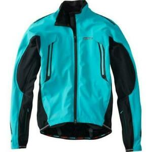 Madison RoadRace Apex men's waterproof storm jacket, blue curaco,bike, walk, run