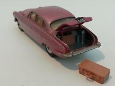 Jaguar Mark X rotmetallic mit Koffer 1/43 Corgi Toys 238 Gt Britain von 1962