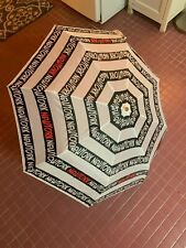 NEW NYC NEW YORK BIG APPLE OFFICIAL TOURIST WHITE COMPACT UMBRELLA