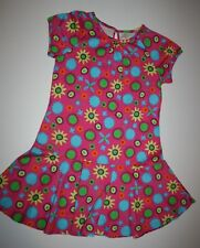 NEW Hanna Andersson That's That Dress Pink Sun Floral Print Size 140 or 9 10 Yr