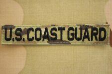 Uscg Coast Guard Service Branch Multicam Ocp Hook Back Camouflage Uniform Tape