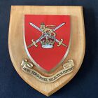 """A RARE ARMY MESS WALL PLAQUE/ SHIELD """"Army Personnel Selection Centre"""""""