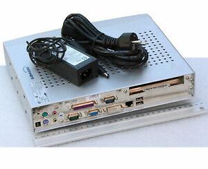 Mini Ordenador Neoware CA22 DVI VGA PCI Gratis 512MB 12V Poder RS-232 Lpt