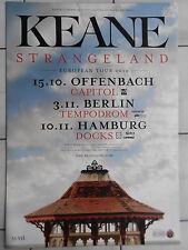 Keane 2012 Tour Orig. Concert-Concert-Tour-Poster - affiche DIN a1