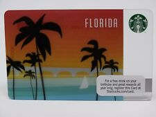 STARBUCKS 2011 FLORIDA GIFT CARD - 1st Florida Card - New, Never Swiped