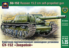 1/35 Russian 152mm Self-propelled Gun Su-152 ArkModels 35025 Models kits
