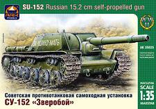 1/35 Russian 152mm Self-propelled Gun SU-152 ArkModels 35025 Models kits