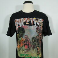 IMPETIGO Horror Of The Zombies T-Shirt Black Men's size M (NEW)