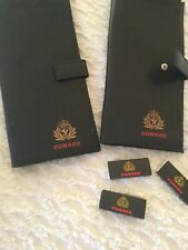 Cunard Ticket Holders And Match Boxes