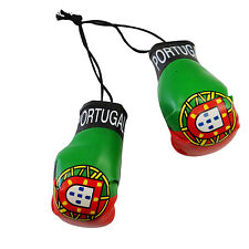 PORTUGAL COUNTRY FLAG  MINI BOXING GLOVES .. NEW
