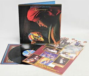 ELECTRIC LIGHT ORCHESTRA (ELO) 'Discovery' 1979 Vinyl LP + Poster & Inner - T11