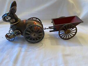 Jim Mullan, Mullanium Rabbit on Wheels with Wagon, Steampunk