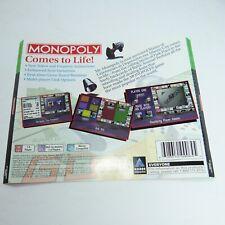 Playstation Monopoly Rear artwork