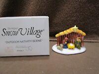 Dept 56 Outdoor Nativity Scene / Snow Village