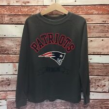 NFL New England Patriots Official Youth L/S Gray Thermal T-shirt. Size L/7.
