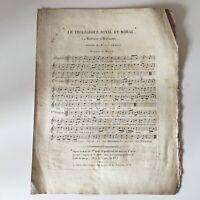 Partitura El Retorno de España D.C Chanay Música Mcqueen De Autor 1824