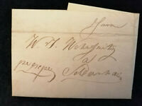 Vorphilatelie Altdeutschland - Brief Faltbrief  WZ 2     Nr.15