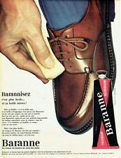 Publicité Advertising 039  1963  cirage chaussures  meaneuf supercolor Baranne
