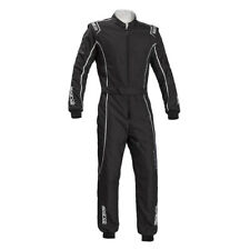 Go Kart - Sparco Groove KS-3 Kart Suit - Black/Silver - Small
