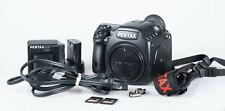 PENTAX 645D 40.0MP Medium Format Camera Digital SLRDSLR -- shutterCount 19k