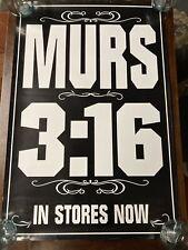 Murs 3:16 - Poster 24x36. Very Good Condition. Living Legends Hip Hop Rap