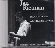 Jan Rietman-Ma Ga Niet Weg promo cd single