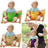 Baby Kids Child Take Along Portable Traval High Chair Highchair Holder Harness