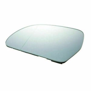 Left Driver Side Heated Mirror Glass + Backing Plate For Audi A3 A4 A5 A6 A8