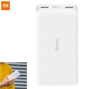 Xiaomi Redmi 20000mAh Power Bank Quick Charge 3.0 Portable Charger USB-C Battery