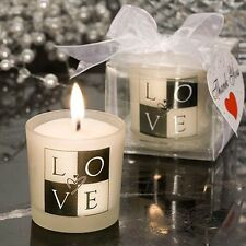 Love Design Candle Favor Wedding Bridal Shower Gift Favors