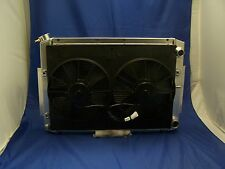 1965 19661967 chevy chevelle ls ls1 ls2  ALUMINUM RADIATOR with duel fans