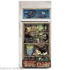 """65"""" Halloween Horror CHOP SHOP Fridge Plastic Door Poster Cover"""
