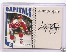 AL IAFRATE 2004/5 IN THE GAME FRANCHISE AUTOGRAPH