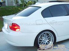 05-11 BMW E90 323i 328i 335i M3 4Dr OE Trunk Lip AC Type Roof Spoiler #300 White